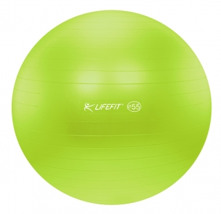 Gymnastický míč LIFEFIT ANTI-BURST 55 cm